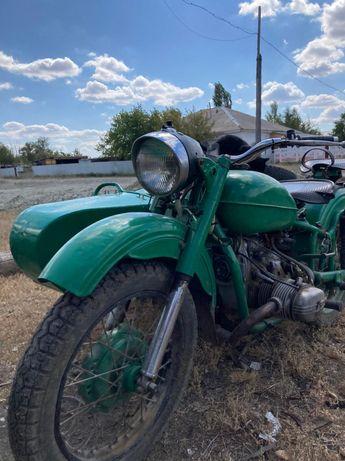 Мотоцикл Урал 12 вольт