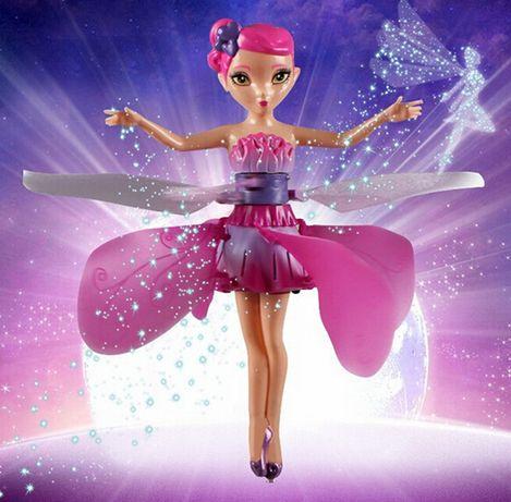 Лeтящa фeя кукла дрон която се носи във въздуха леко и ефирно