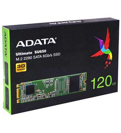 Накопитель SSD M.2 SATA ADATA SU650, 120GB