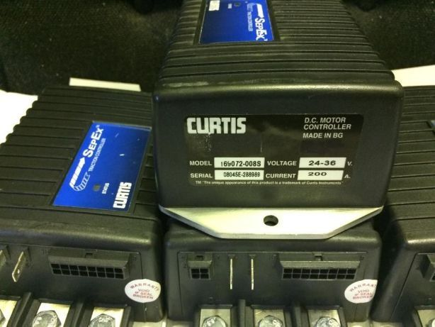 Sepex Traction Controller Curtis 169072/3-008S D.C 24-36V 200A/300A