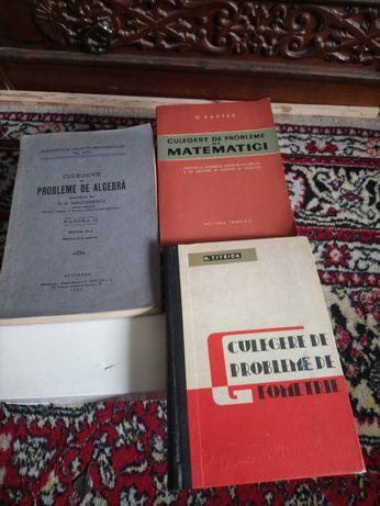 Carti  vechi de Matematica