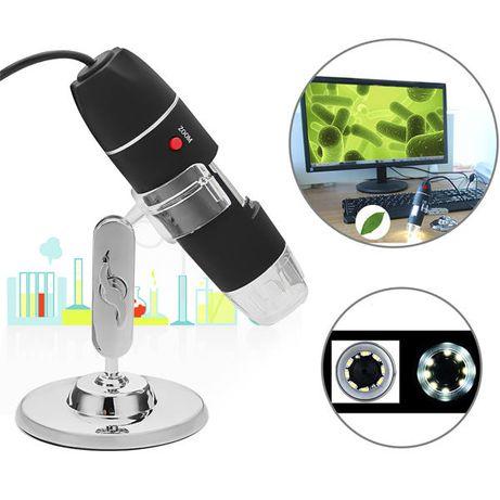 USB Електронен Микроскоп с 1000х увеличение.