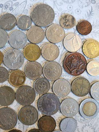 Vând monede vechi străine