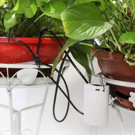 Автоматична система за поливане на саксии