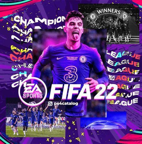 FIFA 22 playstation 4 sony ps4 ps5 сони Игры для приставок (закачка)