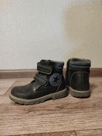 FLAMINGO ОРИГИНАЛ!!! Детские кожаные ботинки 27 р.