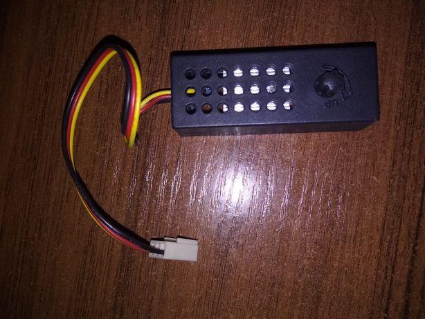 Регулятор оборотов вентилятора на 12 вольт теплиц инкубатора компьютер
