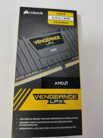 Memorie Corsair Vengeance LPX 8GB (1x8GB), DDR4, 3600MHz, CL18, 1.35V