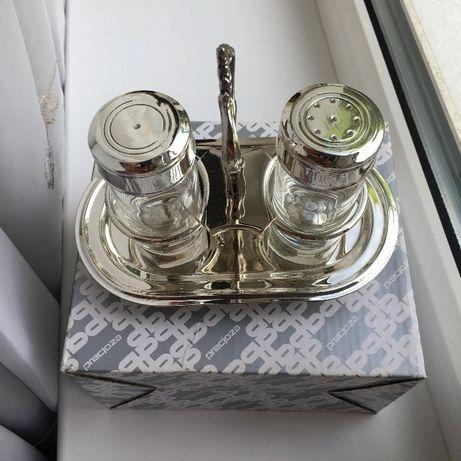 солонка и перечница набор качественный новый посуда в упаковке