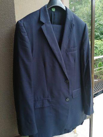 Costum elegant lână Massimo Dutti Bluemarine stare impecabila