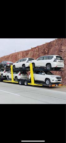 Автовоз Доставка машин Перевозка авто услуги автомобилей трал Алматы у