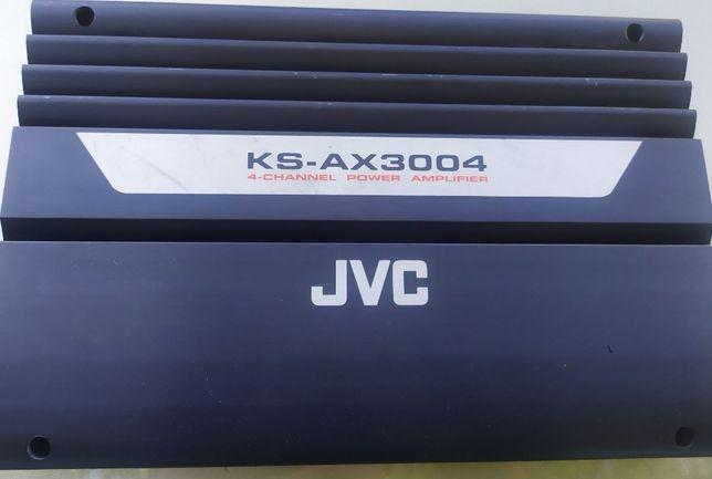 Четырёхканальный усилитель jvc ks-ax3004