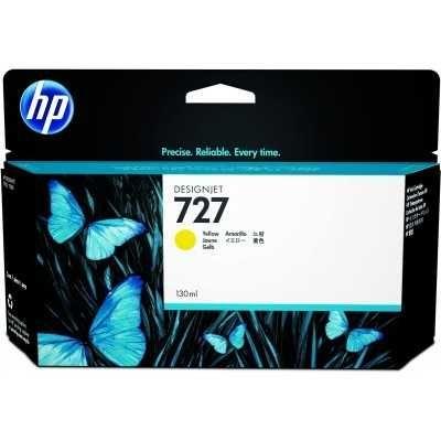 Оригинальный картридж HP B3P21A No 727, Yellow