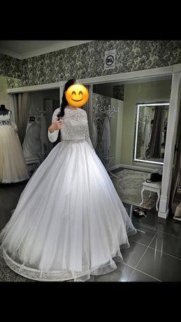 Той көйлек! Свадебное платье!