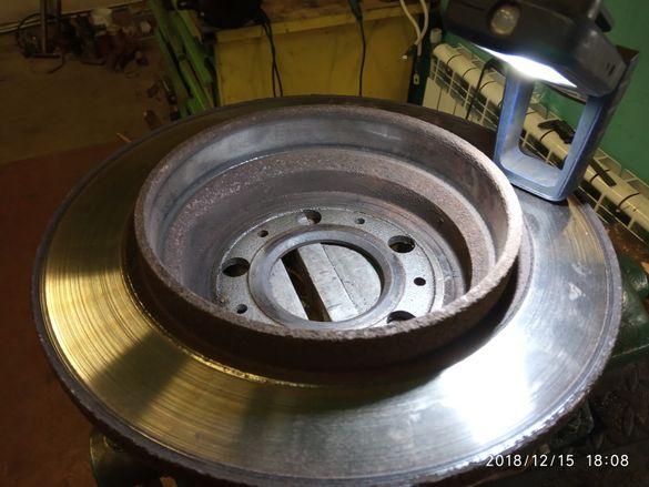 Комплект задни дискове и накладки за Волво В70