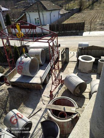 Tuburi și capace din beton armat