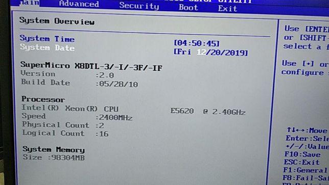 Сервер Supermicro 1U X8DTL в отличном состоянии