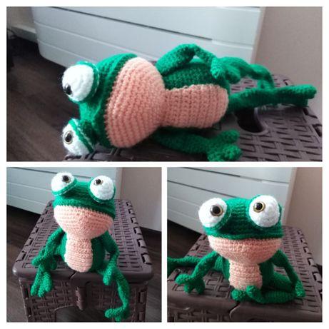 Плетена жабка