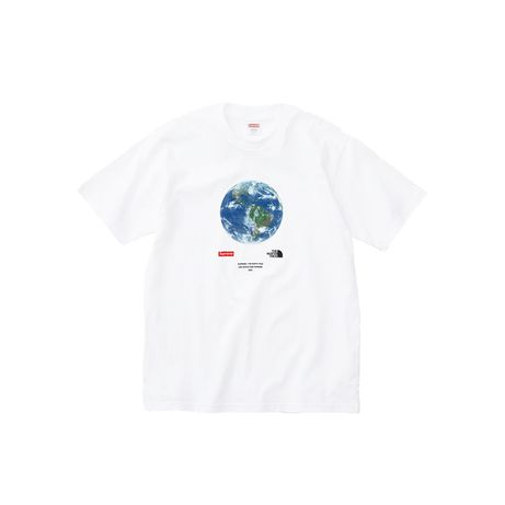 Supreme x The North Face® One World Tee White MArime M