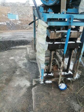 Шлакоблок аппарат сатылады туркестан