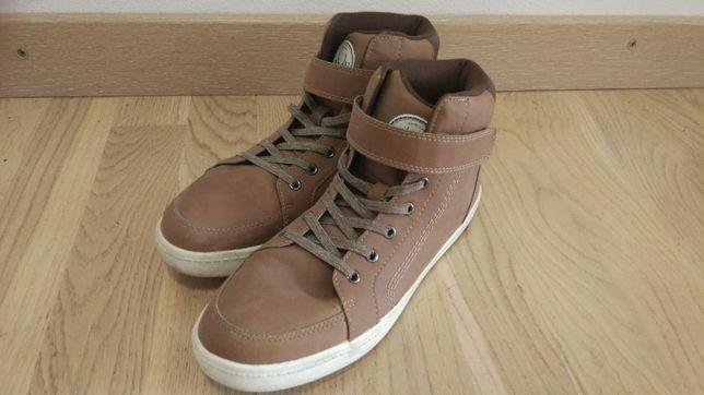 Ghete papuci copii HM primavara toamna H&M piele marimea 39