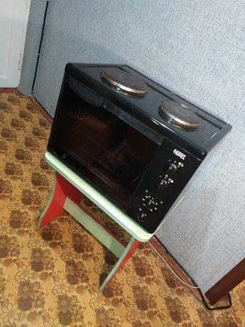 Электроплита с духовкой