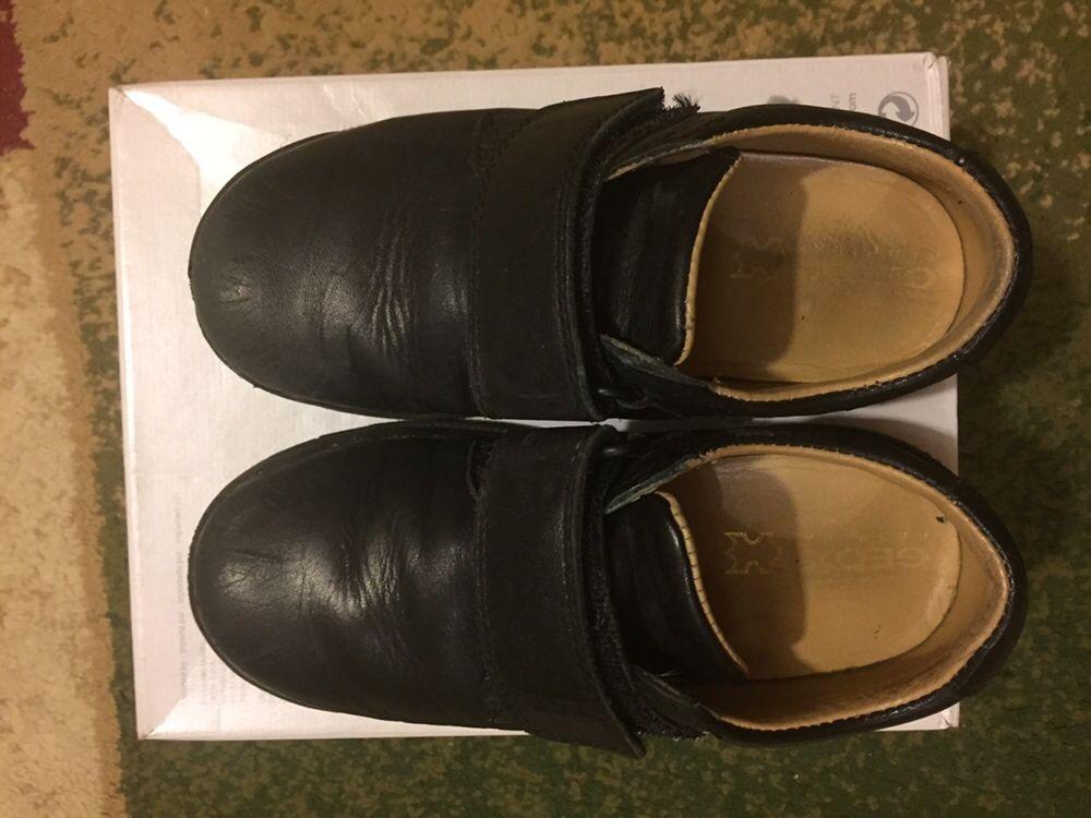 Школьные туфли кожаные 29 размер для мальчика демисезонные