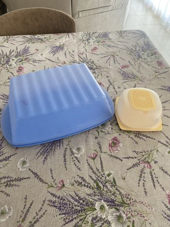 Tupperware хлебница и сырница