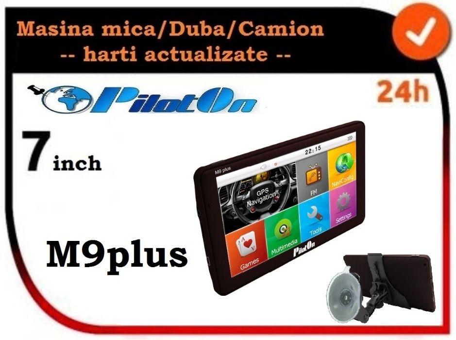 Vand Gps PilotON M9plus ecran mare, pentru camion - Europa Cluj-Napoca - imagine 1
