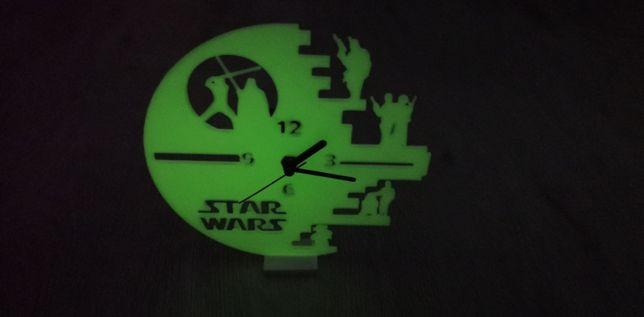 Ceas StarWars Fosforescent - figurine - personalizate