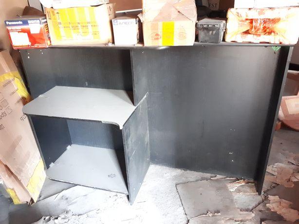 Стойка с комп.столом, торговое оборудование
