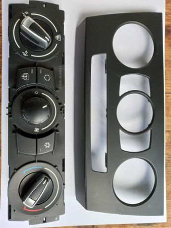 Vind panou comanda A/C pentru BMW E90 LCI, ceasuri bord E90 320D, 2007