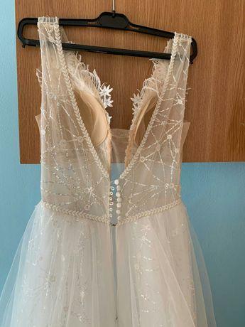 Rochiță mireasa white style, mărimea 36-38