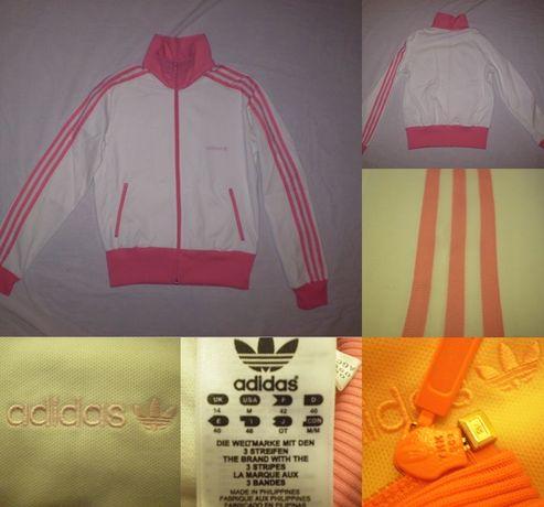 Bluza Adidas Originals (M) fete femei tinere dama trening hanorac roz