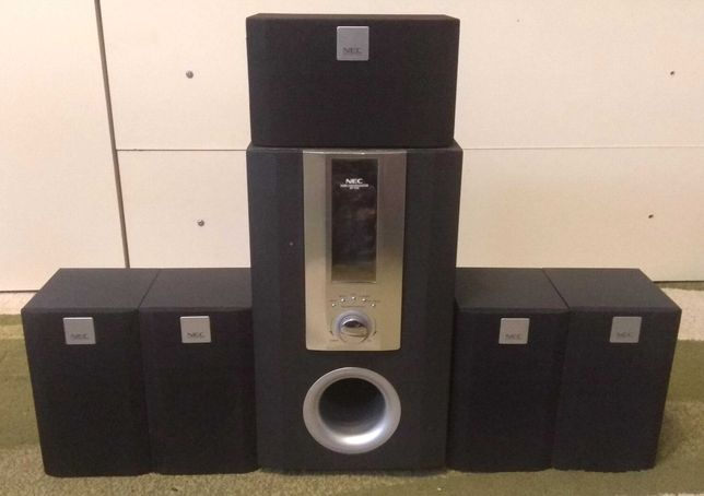 Сабвуфер Аудио система NEC. 5+1