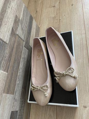 Дамски кожени обувки 38