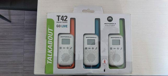 Walkie Talkies Motorola 3 buc pana la 4 km distanta
