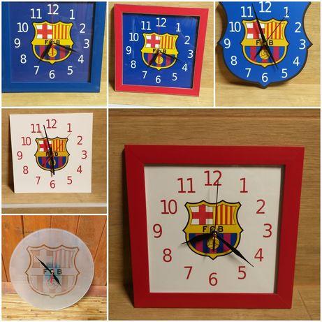 Стенни часовници с футболни емблеми по ваш избор