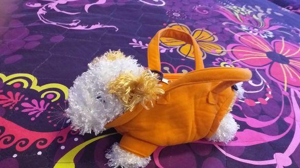 Детски чанти за малки госпожици нови, куче и маймунка раничка-20лв.