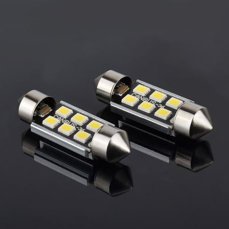 Комплект сулфидни CANBUS LED крушки C5W 36мм/39мм/41мм