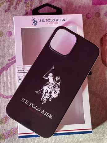 Кейс Iphone 12 pro max us polo