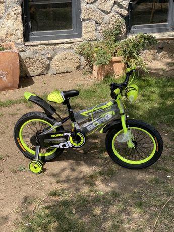 Bicicleta 16 inch, suport bidon apa, roti ajutatoare de silicon