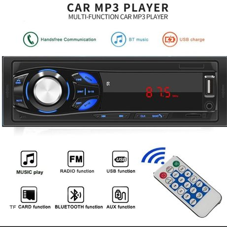 Radio MP3 cu Bluetooth / Player Auto USB AUX SD Card FM Display LCD