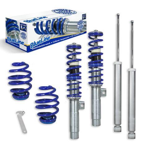 Спортно регулируемо окачване БМВ Е46 (1998-2005) сини пружини