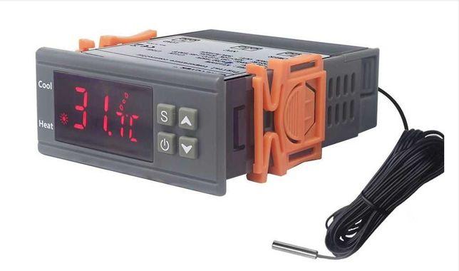 Терморегулятор  мощный 30А 6.6 кВтдля холодильника инкубатора  и др.