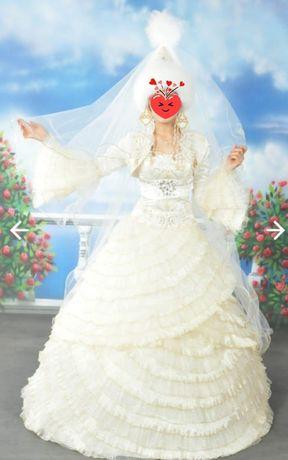 Платье на свадьбу или ұзату
