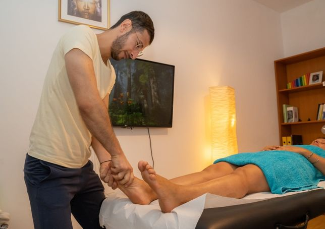 Masaj Terapeutic Relaxare Reflexoterapie
