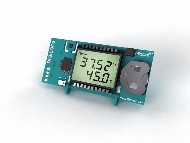 Гигрометр, термометр (2 в 1) Rcom Digilog III (Южная Корея)