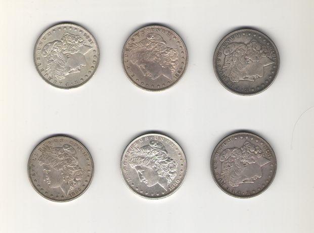 Monede SUA - One Dollar Morgan - 1878, 1879, 1880, 1881, 1882, 1884