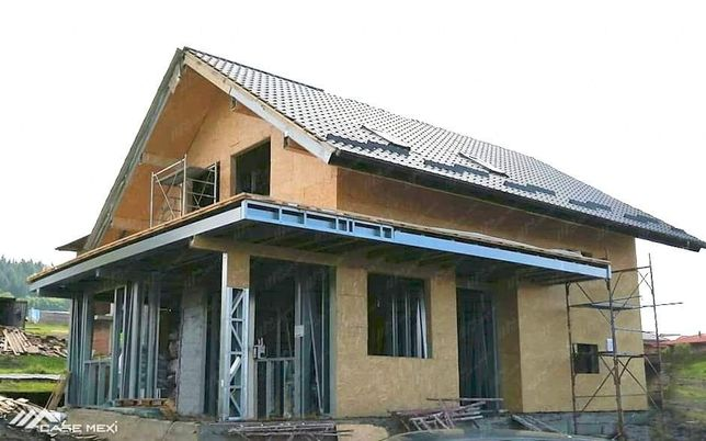 Realizam case modulare din structura metalica